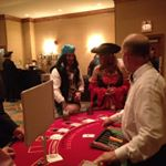 Casino at Buccaneers Ball #privateparty #fun