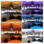We are happy to announce we have added a complete room uplighting service to our line up! Bring your room to the next level with this awesome lighting option. #otherservices  #rocweddings #rocweddingdjs