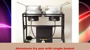 King Cooker Double Propane Gas Fryer